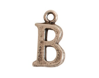 Alphabet Initial Letter 'B' Charm (cib-sb) – 1 piece