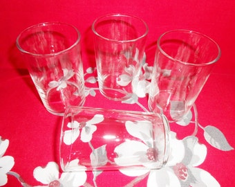 Libbey Crystal Clear Juice Glasses - Set of 4