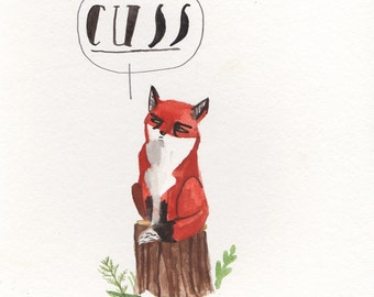 Foul Mouthed Fox