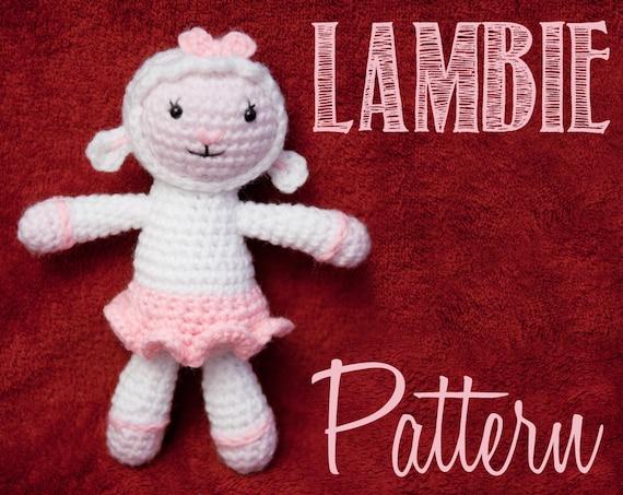 Lambie Amigurumi Patron Gratis : Lambie Doc McStuffins Amigurumi Crochet Pattern
