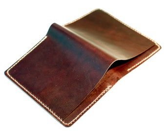 Chromexcel Bifold Wallet - Burgundy