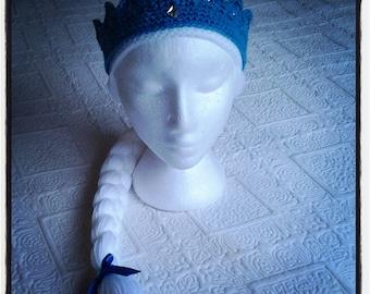Elsa inspired headwear