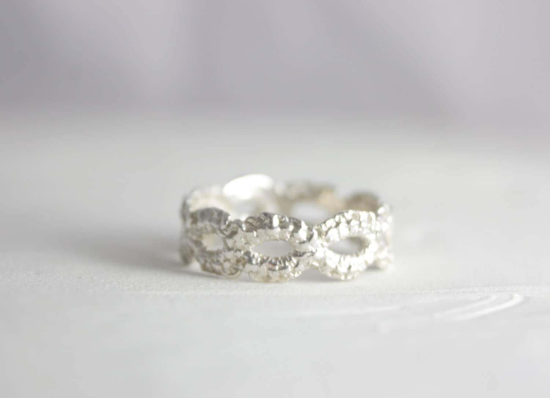 sterling silver princess ring silver tiara ring handmade