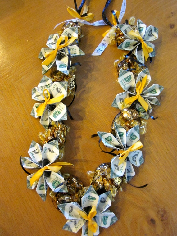 Graduation Money Candy Lei By Pcbymarilyn On Etsy