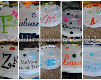 Personalized Cake Carrier Or Cake Saver