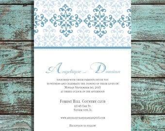 wedding invitations Moroccan wedding invite