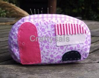 Caravan pin cushion