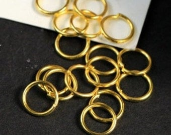 DIY  jewelry 200pcs  of antiqued brass,gold or silver jumpring 9mm