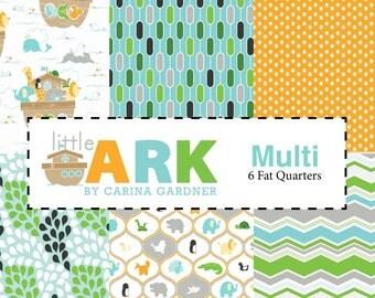 Little Ark 6 Fat Quarter Bundle by Carina Gardner