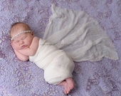 Lilac Sweet Puff Lace PREMIUM Fabric (2 Yards) for Photography Backdrops or Bean Bag (photography, babies, newborns)