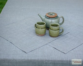 Natural Linen Napkins Homey Home x 2