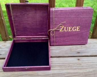 Groomsmen Gift, Set of 2, Cigar Box, Gifts for Him, Keepsake Box, Cool Groomsmen Gift, Groomsmen Gift Box, Personalized Gift, Gift Box