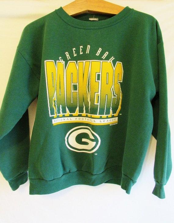 Vintage 1994 Retro Green Bay Packers Sweatshirt Sz M