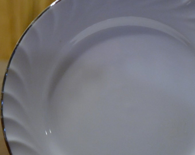 Norleans Estate Pattern Bread Plate Saucers Set of 6 Replacement PanchosPorch