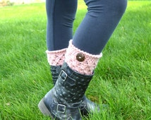 Madison Boot Cuffs, Toddler to Kids Sizes, Pick your own color, Toddler Legwarmers, Kids size Leg warmers, Boot toppers, Kids Accessories
