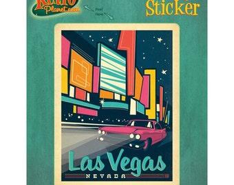 Las Vegas Strip Nevada Vinyl Sticker #47908