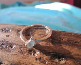 Topaz Ring in Sterling Silver Size 7