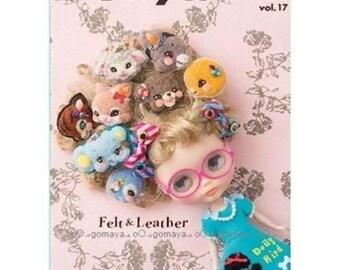 Dollybird vol 17 - Doll Blythe Styling Art Book Magazine Felt & Leather