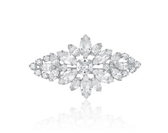 Diamond shaped brooch