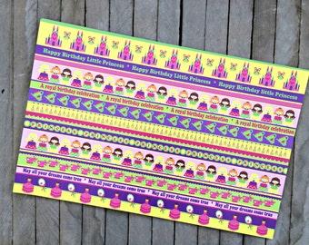 Princess Paper Placemats - Set of 8