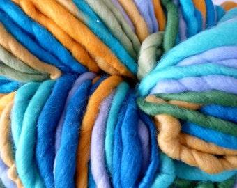 Self striping yarn, 127 yds,  500g, 116m, 3-4 wpi, super fat yarn, super chunky yarn, super bulky yarn, merino yarn, super bulky merino yarn