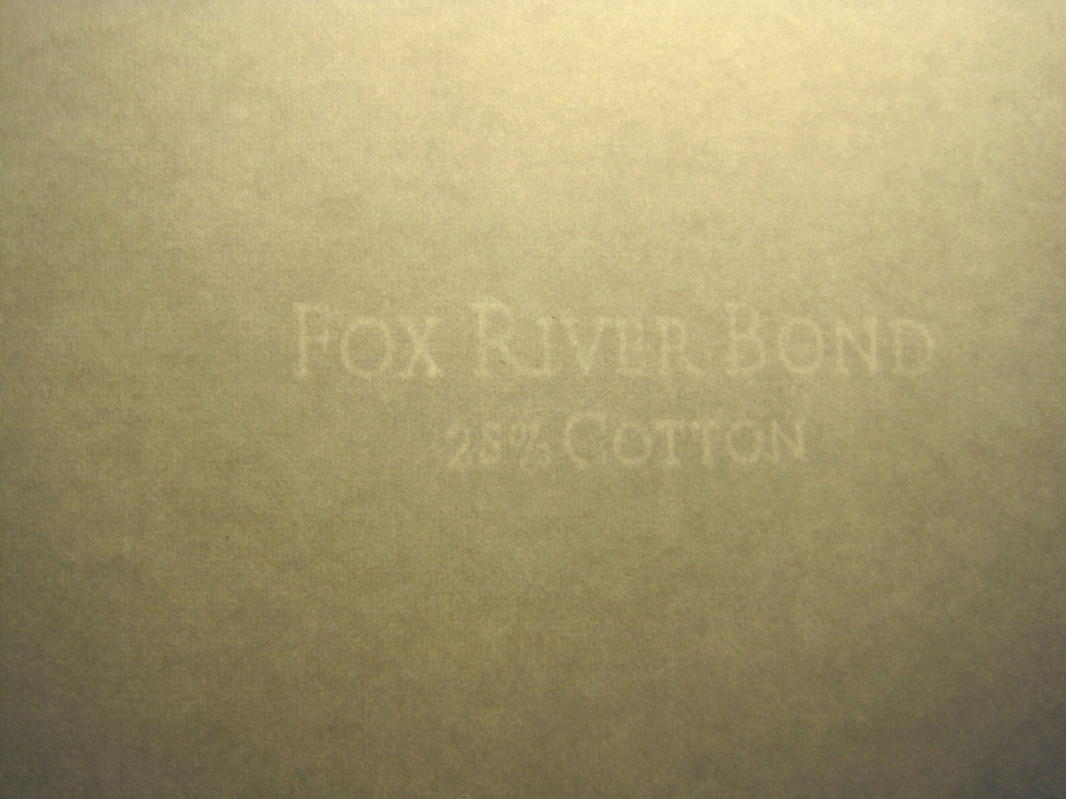 fox river watermarked paper Fox river select is cunningly created with writing and cover weights in the softest shades.