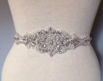 Pearls Bridal belt wedding belt bridal sash wedding sash crystal sash crystal belt wedding dress rhinestone sash satin ribbon belt  appliqué