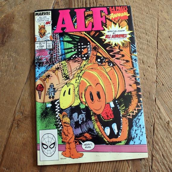 Vintage ALF Comic Book Vol1. No.2 1989 Anniversary By