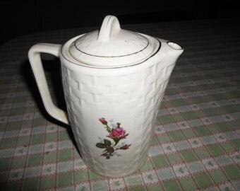Vintage Electric Rose Teapot