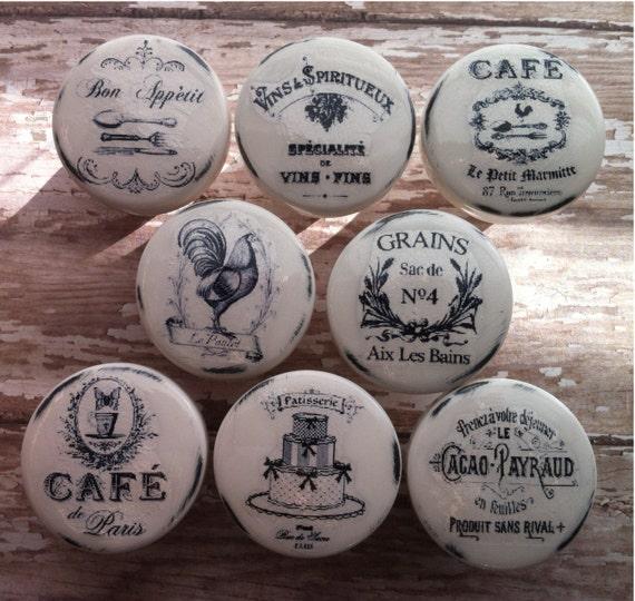 Farmhouse Kitchen Pulls: Vintage Handmade Kitchen Knobs Drawer Pulls By PinkSugarVintage
