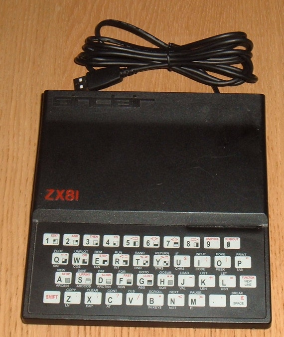 Sinclair ZX81 USB Keyboard