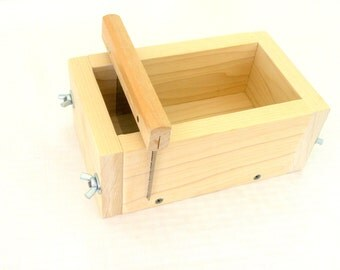 2 Pound Wooden Soap Mold - For Cold Process Soap