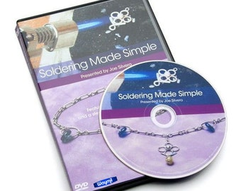 DVD Soldering Made Simple Basics & Necklace Project by Joe Silvera WA 780--02