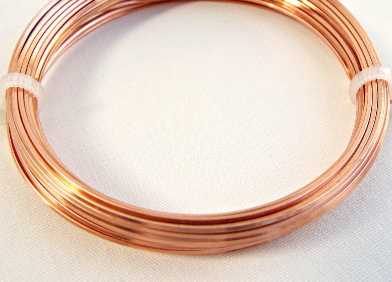 Square Wire, Copper Jewelry Wire, 20 Gauge Wire, 6 Metres, Wire ...