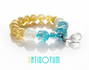 CRYSTALS Handmade Bracelet - Natural Stone Jewellery - Antidotum - Handmade
