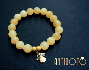 CALCITE Handmade Bracelet - Natural JEWELLERY - Antidoto - Handmade