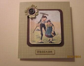 Friends - Farm Fresh Card