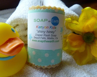 Diaper Rash Soap Made With Organic Ingredients Vegan