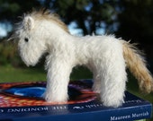 Aurora is a 4.5 inch mohair pony exclusive to Tulip Bears.