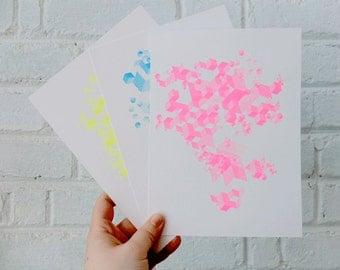 Fragmentation Neon Silkscreen Set