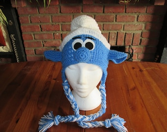 Smurf hat, prices vary, please see full listing for details.