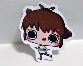 Chihiro - Spirited Away Sticker