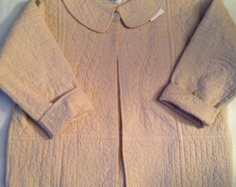 P1 beautiful   detail quilted jacket. Women's small