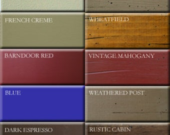 Distressed COLOR Samples