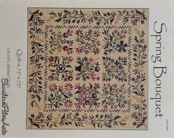 Spring Bouquet Quilt Pattern - Edyta Sitar - Laundry Basket Quilts - LBQ-0300