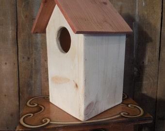 rustic birdhouse, reclaimed wood birdhouse, decorative birdhouse, Kestrel birdhouse