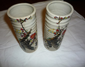 Set of Japanese Bud Vases
