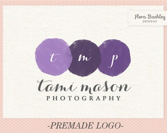 Custom Logo Design and Watermark - Premade  FB085