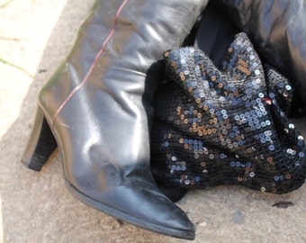 Vintage 1970's Knee High Boots
