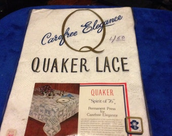 Quaker Lace Spirt of 76 tablecloth